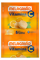 Melagrião® C sabor laranja com açúcar